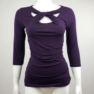 41 Hawthorn Stitch Fix Purple Top - XS